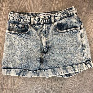 Acid Wash High Waisted Jeans